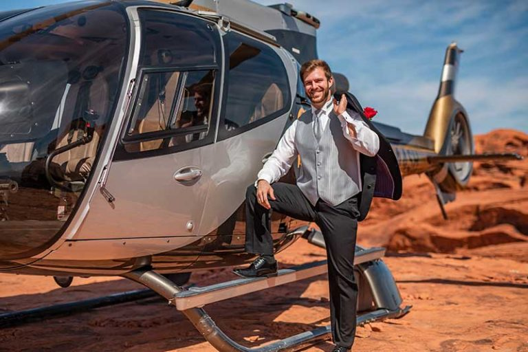 Valley of Fire Helicopter Weddings Gallery